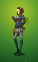 Blue Sweater Girl by dCTb