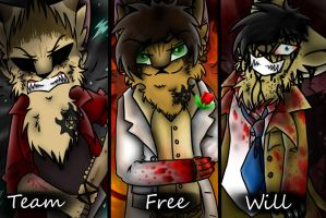 .:Team Free Will:. by S1LKST3RK4T
