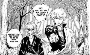Gintoki and Kenshin by JStarsProject