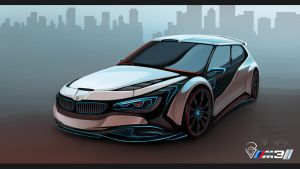BMW Concept Car - M3i Hatchback by KhoaSV