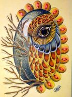 owl by PinkaArt