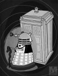 The First Doctor Dalek by MeghanMurphy