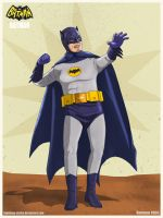 Batman - 1966 by Lightning-Stroke