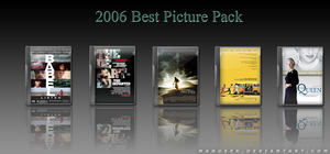 2006 Oscar Best Picture Pack by manueek