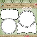 Journal Tags - Label Frames 2 by starsunflowerstudio