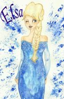 Elsa by blackflameknight