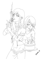 Lineart: Lux Holly for My Anh by Zenith30000