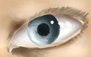 quickpaint- eye by Alleforte