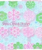 Snow Crystal Brushes by Coby17