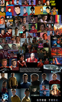 The original Star Trek Crew Tribute by TheDoctorWriter