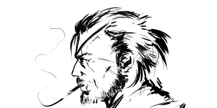 Snake MGS5 by ganstyle