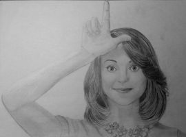 Jayma Mays as Emma Pillsbury by anna-solitaire