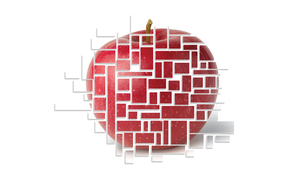 Red Apple by K4tEe