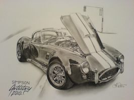 Shelby Cobra by SIMPSONARTISTRY