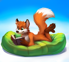 [CM] Enjoying a Book by thanshuhai