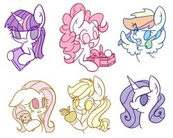 Little Ponies by AngGrc