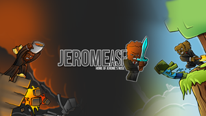 New Youtube Background - JeromeASF by FinsGraphics