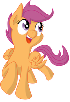 Scootaloo by SpinOffJoe