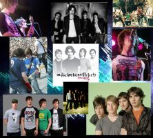 All American Rejects Collage by vaughnDutch