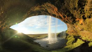 Seljalandsfoss Panorama by cwaddell