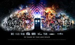 Doctor Who: 50 Years of Time and Space by Tim-42
