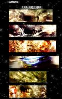 6 Sig .PSD pack by Sphinx89