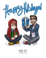Wilde Life - Happy Holidays by Lepas