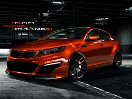 Kia Optima by hesoyam25