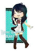 Happy Birthday Maki! by phobialia