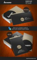 Havana - Business Card by sne4D