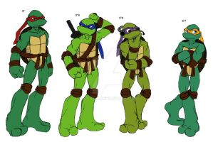 TMNT.... by Lily-pily