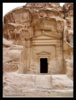 Little Petra Tomb by kimichan
