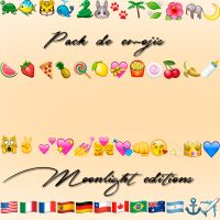 PACK DE EMOJIS by moonlighteditixns