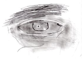 Attempt at realistic eye by TossarN