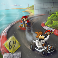 And the Race Continues... by DoubleDandE