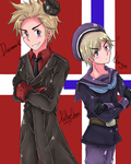 APH - Danmark and Norge by KatheChan