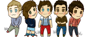 ONE DIRECTION by Melancholy-Puppet
