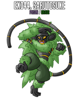 Fakemon: EX044 - Legendary Ninja Master by MTC-Studio