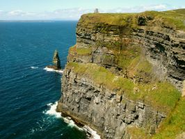 Cliffs of Moher by Siiil