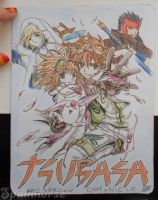 [OLD DRAWING] Tsubasa Reservoir Chronicles by CrisFHatena