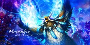 World of Warcraft Moonkin Sig. by mike-hege