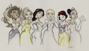Disney Princess Prep by DaveJorel