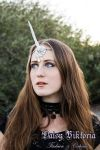 White Unicorn Circlet by DaisyViktoria