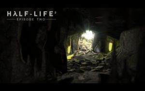 Half life 2 EP2 cave by partyonhat