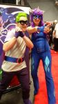 Hum Drum and Radiance (NY Comic Con 2014) by KarRedRoses