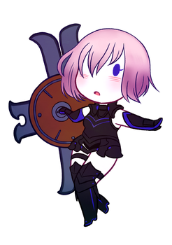 [fateGO] servant of shield by maiscribble