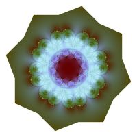Fractal Pansy by Sulfura