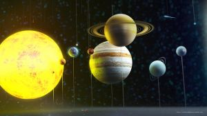 Our Solar System by rafajija