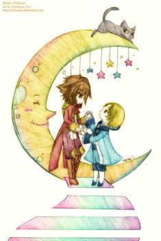 Moon Children by Fortranica