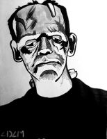 Frankenstein's Monster by stinson627